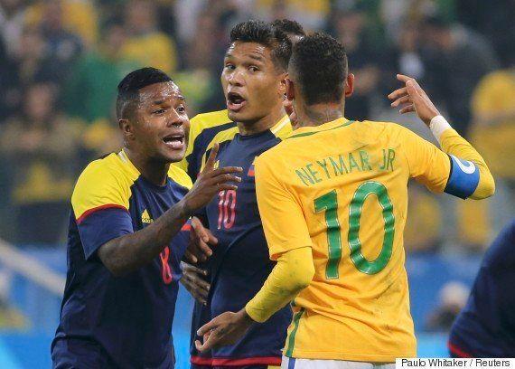 #Rio2016: Brasil vence Colômbia por 2 a 0 em futebol