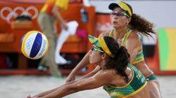 #ElasNaRio2016: Larissa e Talita vencem no vôlei de praia e vão para
