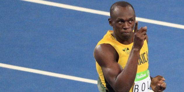2016 Rio Olympics - Athletics - Semifinal - Men's 100m Semifinals - Olympic Stadium - Rio de Janeiro,...