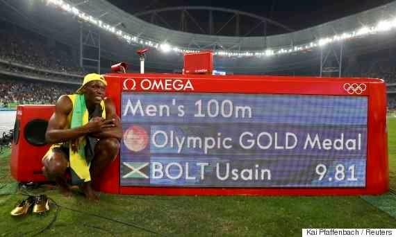 #Rio2016: Usain Bolt vence 3º ouro em prova de 100
