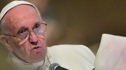 Em discurso, papa Francisco pede combate à