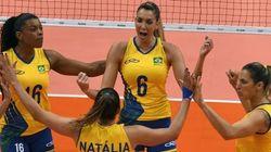Show das poderosas: Brasil DETONA Rússia em vôlei