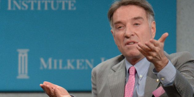 Eike Batista, Chairman and CEO, EBX Group speaks during the 'Global Overview: Shifting Fortunes' lunch...