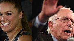 Ronda apoia Sanders para presidência dos EUA: 'Ele não leva dinheiro de