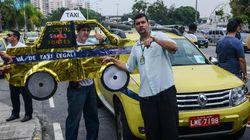 Taxi vs. Uber: Protestos contra o aplicativo param as ruas do Rio, São Paulo e