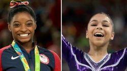 Simone Biles é só elogios a Flavinha: 'Esperava ela ganhando a medalha e não