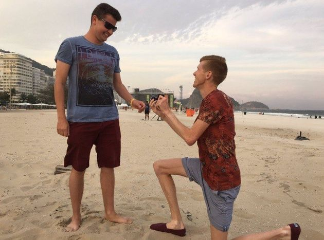 Atleta britânico faz pedido de casamento a seu namorado durante Olimpíada... E a resposta é