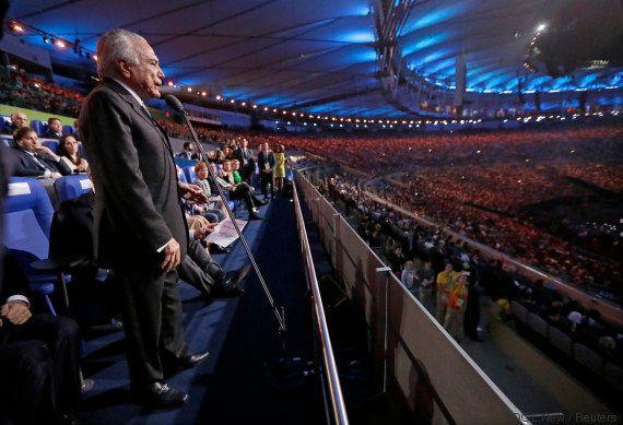 Com medo de vaias? Michel Temer NÃO VAI ao encerramento da Rio