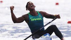 Vai, Brasil! É medalha de prata HISTÓRICA na canoagem pra Isaquias