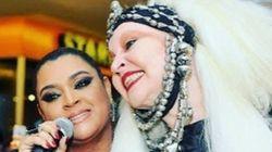 'Céu mais colorido': Famosos se despedem de Elke Maravilha nas redes