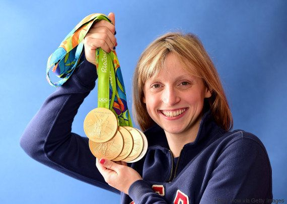 Nasce um mito: Quem é Katie Ledecky, a mulher mais vitoriosa da Rio