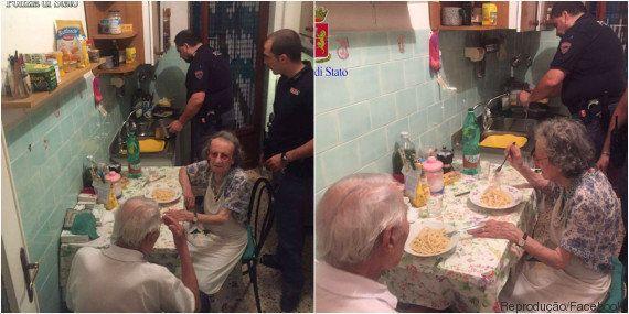 Policiais dão show de empatia ao acalmar casal de velhinhos desesperado com a