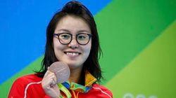 Ela ataca de novo: Chinesa da natação quebra tabu e fala sobre nadar