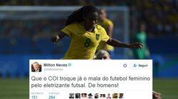 Discordamos da opinião deste jornalista, que reforça preconceito com o futebol