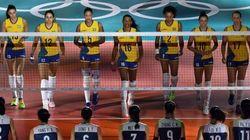 Obrigado, meninas! Em partida tensa, Brasil perde por pouco para a China em vôlei
