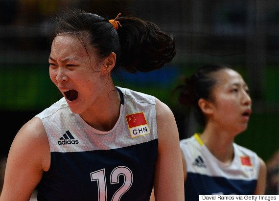 #ElasNaRio2016: China vence Brasil por 3 sets a 2 em vôlei