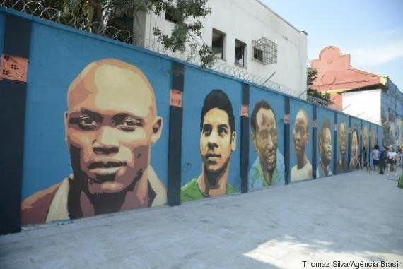 Atletas refugiados são retratados em grafites no Porto