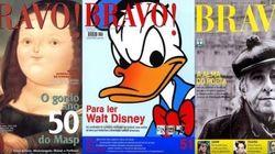 Adoradores da arte, regozijem-se: A revista Bravo! está de