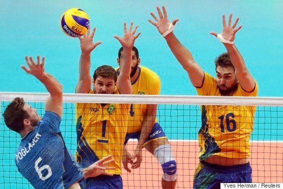 #Rio2016: Brasil manda Argentina de volta para casa por 3 sets a 1 em vôlei