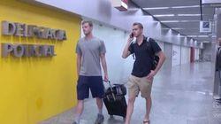 Nadadores dos EUA que denunciaram assalto são impedidos de embarcar pela