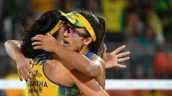Não deu para o Brasil: Ágatha e Bárbara perdem das alemãs e ficam com a medalha de