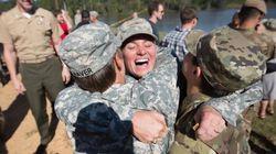 Veterana das Forças Armadas reage a bilhete misógino da melhor maneira