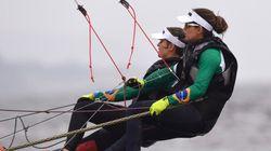 Bons ventos trouxeram o OURO para o Brasil! Martina Grael e Kahena Kunze são campeãs na