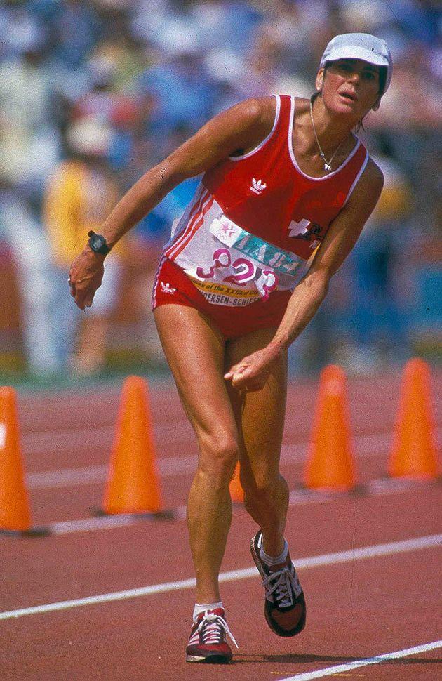 Joan Benoit foi a primeira mulher a vencer uma maratona olímpica. Agora, ela quer superar seu próprio