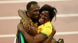 A mãe de Bolt está feliz com as medalhas. Mas o que ela quer mesmo são
