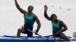 Deu PRATA na final de canoagem dupla e Isaquias faz história na Rio