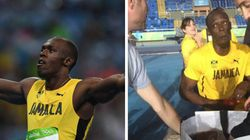 O cara! Bolt se despede da Rio 2016 compartilhando fast food com a