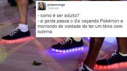 QUEREMOS: Tênis de luzinha é hit do encerramento da Rio