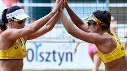 Medalhistas na Rio 2016, Ágatha e Bárbara vão se