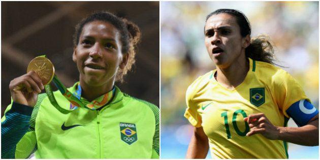 Futebol feminino e Rafaela Silva: O esporte e a atleta mais comentados da Rio