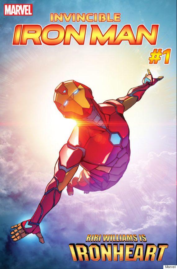 Riri Williams, substituta negra do Homem de Ferro, ganha da Marvel um nome bem