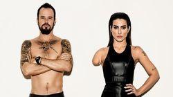 Esta campanha que traz Cleo Pires e Paulo Vilhena como paralímpicos é um close