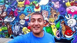 ASSISTA: Este artista plástico deu cor ao bairro ao pintar imóvel com 151