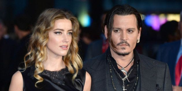 Photo by: DP/AAD/STAR MAX/IPx 10/11/15 Amber Heard and Johnny Depp at the premiere