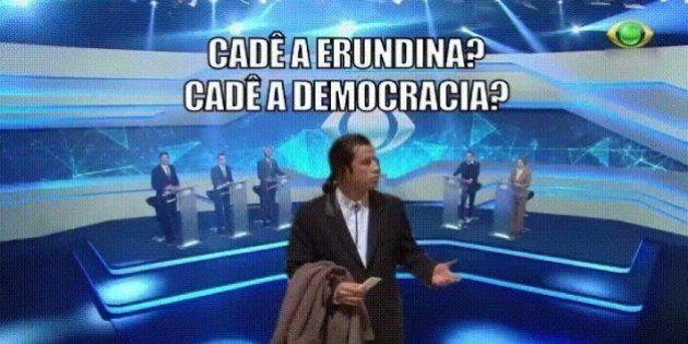Com apenas 10 segundos no horário eleitoral, Erundina usa gif do Travolta em propaganda na