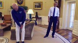 Prestes a deixar cargo, Obama convida Bill Murray para golfe no Salão