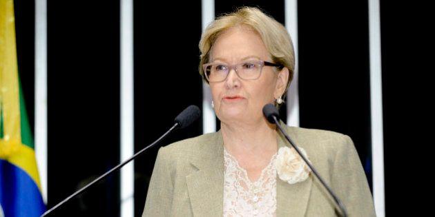 Senadora Ana Amélia Lemos compara Dilma a síndica que não consulta