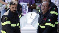 Bombeiro deixa carta emocionante para criança que morreu no terremoto na