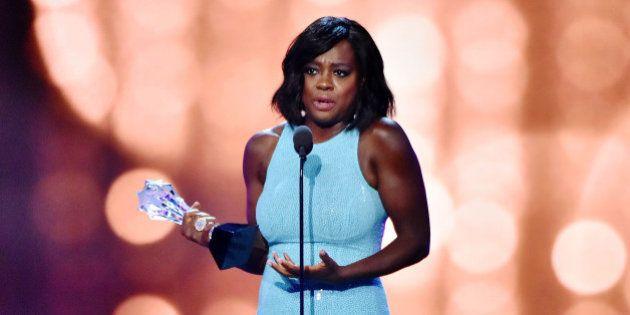 SANTA MONICA, CA - DECEMBER 11: Viola Davis speaks onstage during the 22nd Annual Critics' Choice Awards...