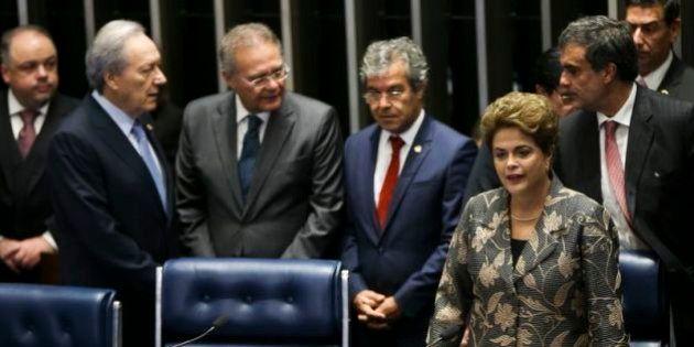 Em discurso de defesa, Dilma Rousseff se emociona e diz: 'Hoje eu só temo a morte da