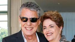 Dilma chega ao Senado para se defender ao lado de Lula e Chico