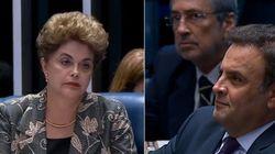 Debate?! Aécio contesta discurso de Dilma de que PSDB não aceitou derrota em