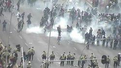 Manifestantes contra teto de gastos e polícia entram em confronto em