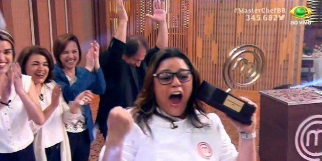 As pessoas se sentiram 'vingadas' e comemoraram demais a vitória de Dayse no 'MasterChef