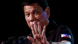 Presidente das Filipinas pode sofrer impeachment por admitir