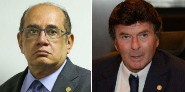 Clima quente no Judiciário: Fux e Mendes batem boca em sessão do